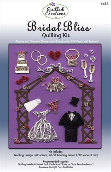 Bridal Bliss Quilling Kit