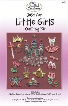 Just for Little Girls Quilling Kit