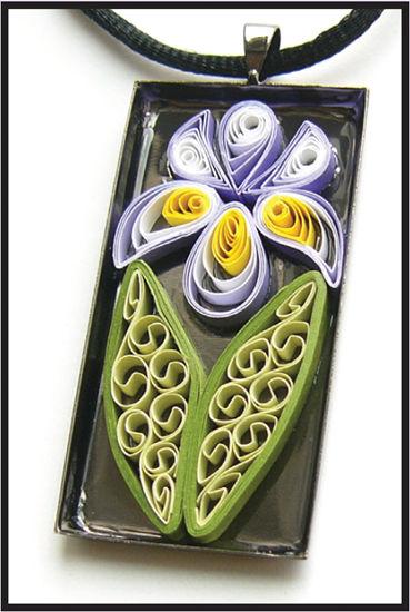 Iris Necklace Pendant