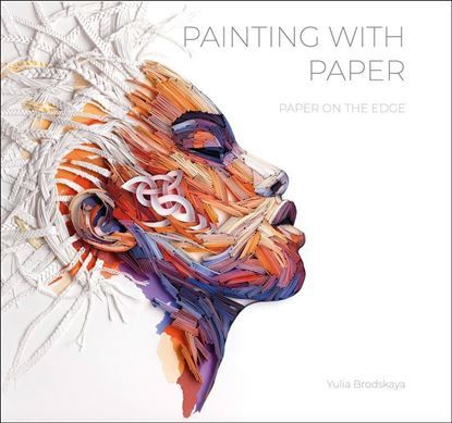 Painting with paper book - cover