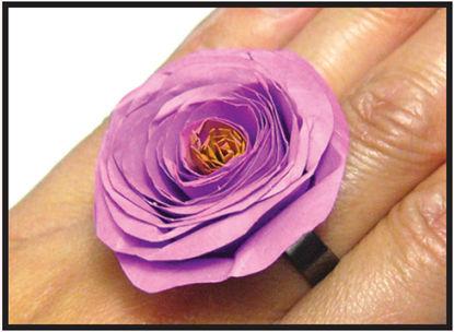 plum blossom ring design