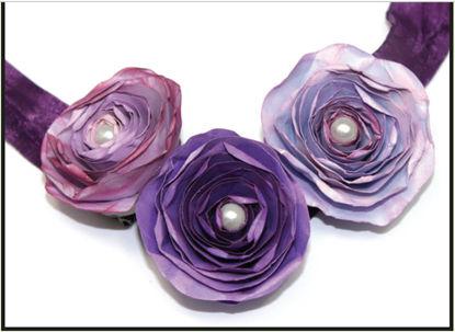 Vintage Floral Necklace Design