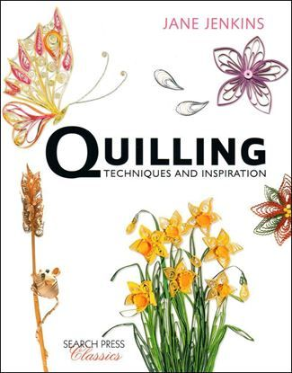 Quilled Techniques and Inspiration Cover