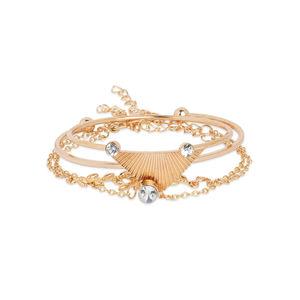 Toniq Dream Catcher Gold Set Of 4 Bracelets
