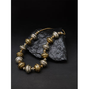 Ethnic Indian Traditional Oxidised Silver Tribal Necklace For Women