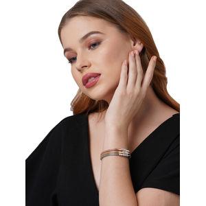 Toniq Set Of 3 Stone Stretch Bracelet for women