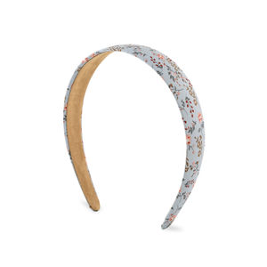 Toniq Kids Pastel Blue Floral Printed Every Day Hair Band For Girls/Children