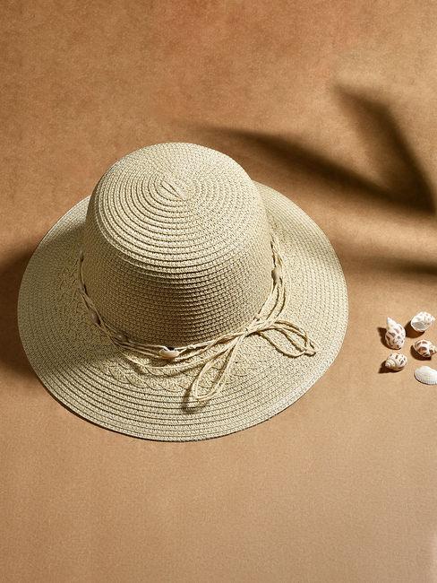 Toniq Miami White Wide Brim Summer Beach Hats For Men/Women