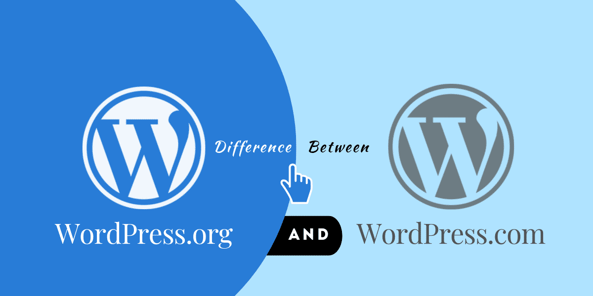 difference between wordpress.com and wordpress.org- what is wordpress