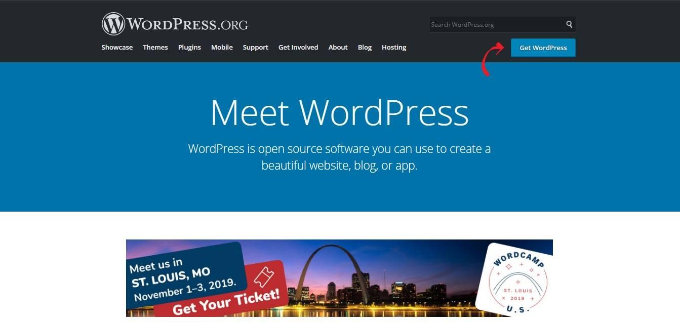 download wordpress from wordpress.org- install wordpress manually