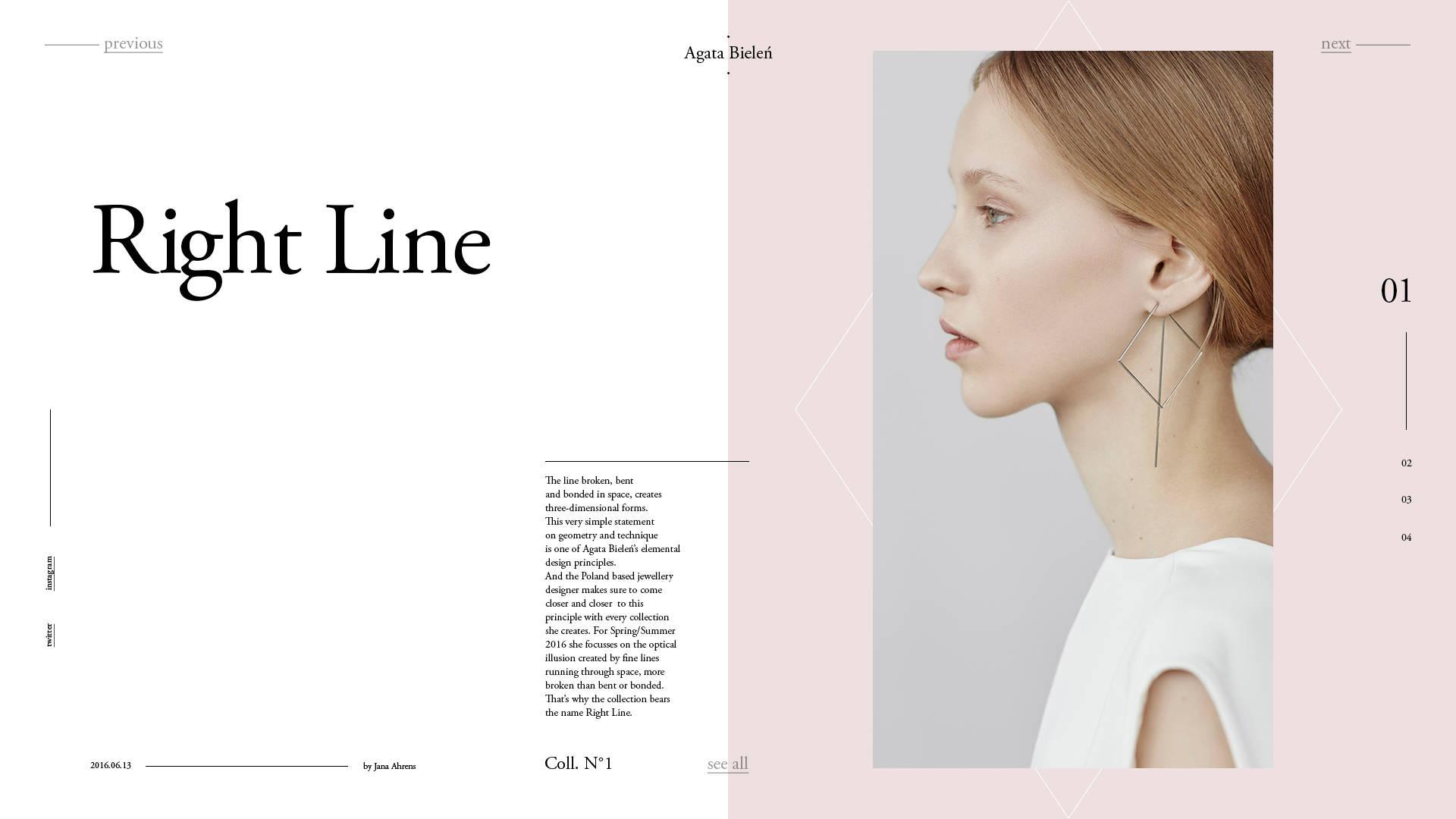 Agata Bielen- free templates download for website
