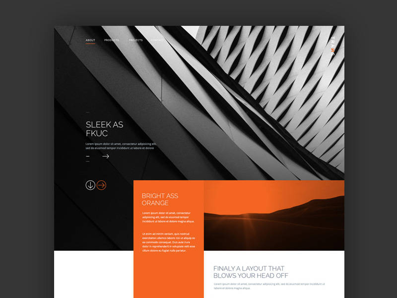 Trans- free psd templates download for website