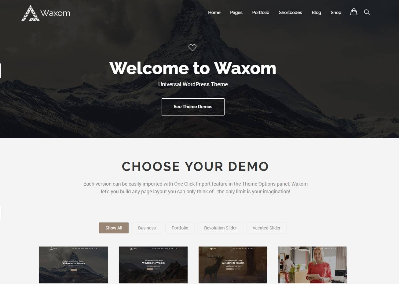Waxom-free-homepage-psd-template-free templates download for website
