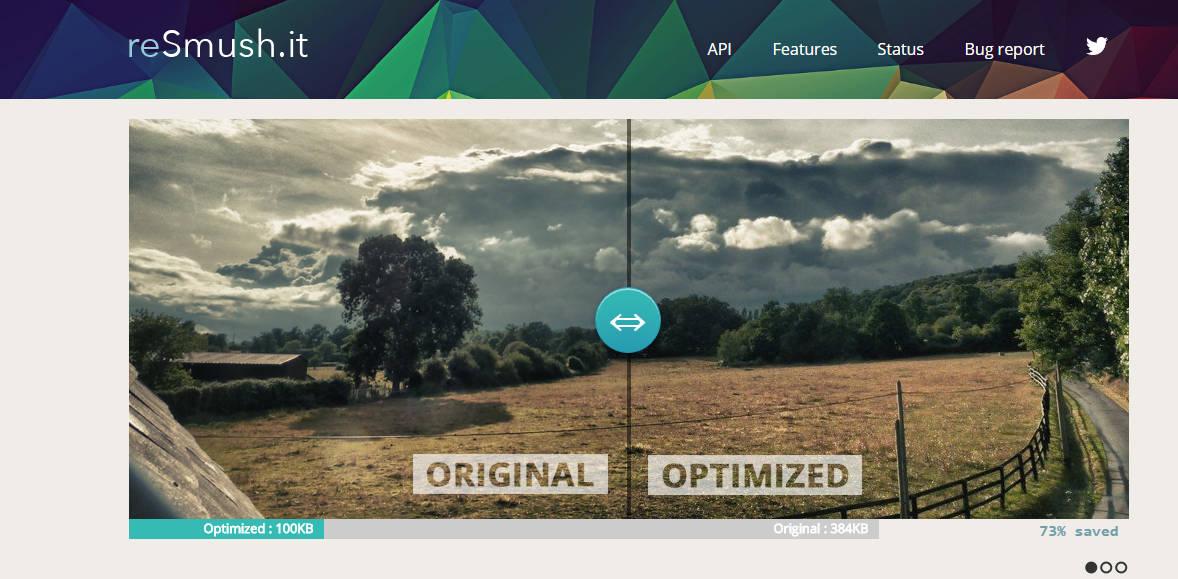 reSmush.it- wordpress image optimization plugin