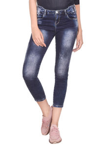 Coral  Women'S Straight Fit Jeans