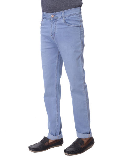 SHAMAN MENS LIGHT BLUE  REGULAR FIT  JEANS
