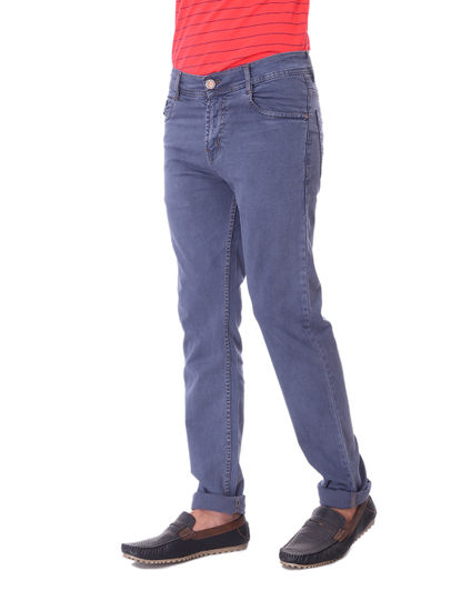 SHAMAN MENS GREY  REGULAR FIT  JEANS