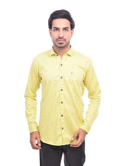 SQUARE UP MENS  PRINTED CASUAL SHIRTS