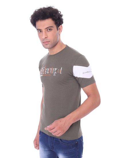 WEB-IN MENS  POLYSTER HALF SLEEVE ROUND NECK T-SHIRT