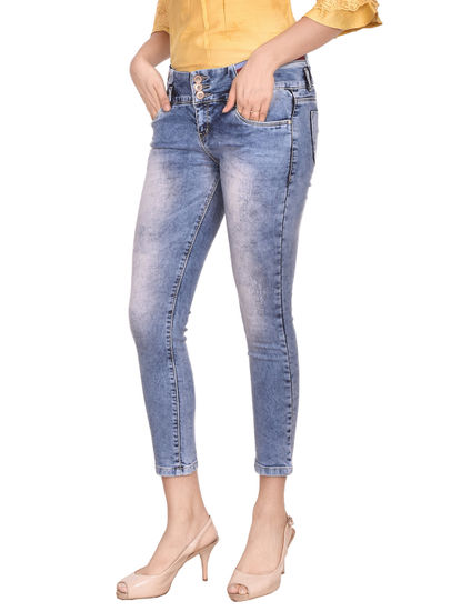 Coral  Women'S Ozone Wash Jeans