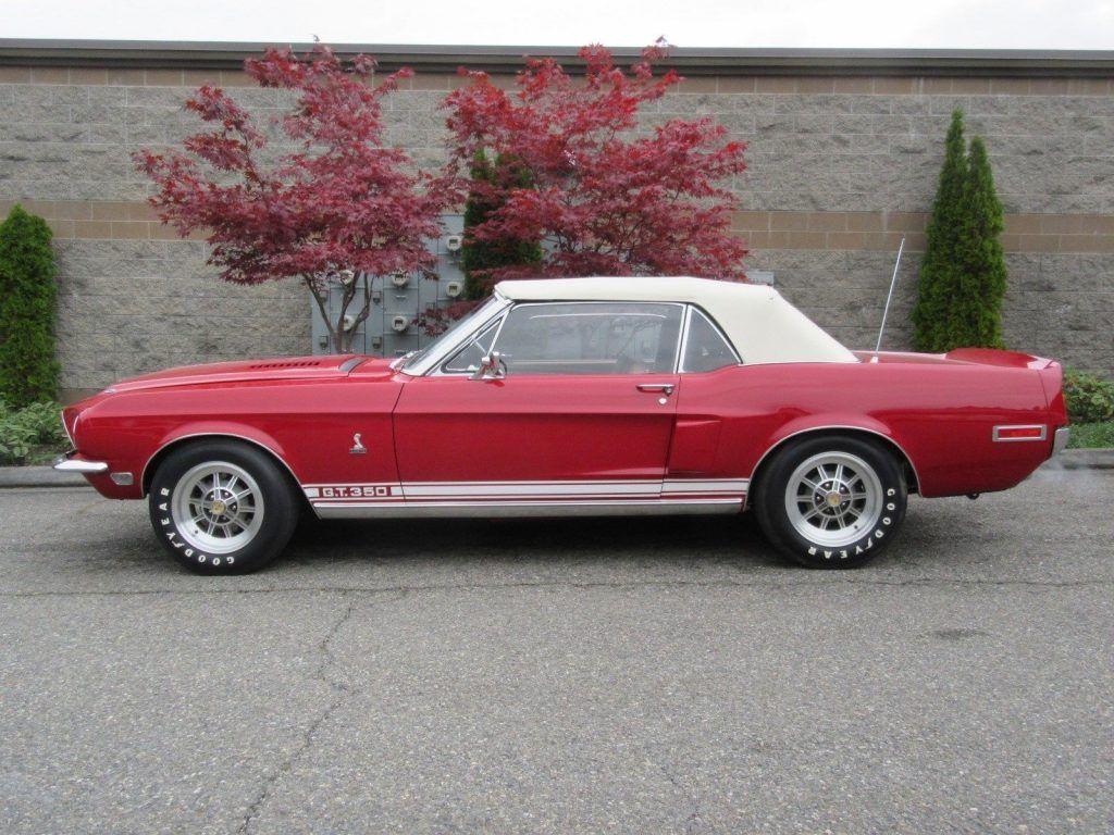 1968 Ford Mustang Shelby Cobra GT 350 Convertible Concours (1 of 404)