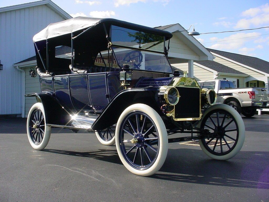Beautifully Restored 1913 Ford Model T Touring Car Concours Restoration