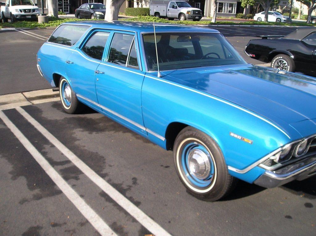 1969 Chevrolet Chevelle Concours Wagon Original California Survivor