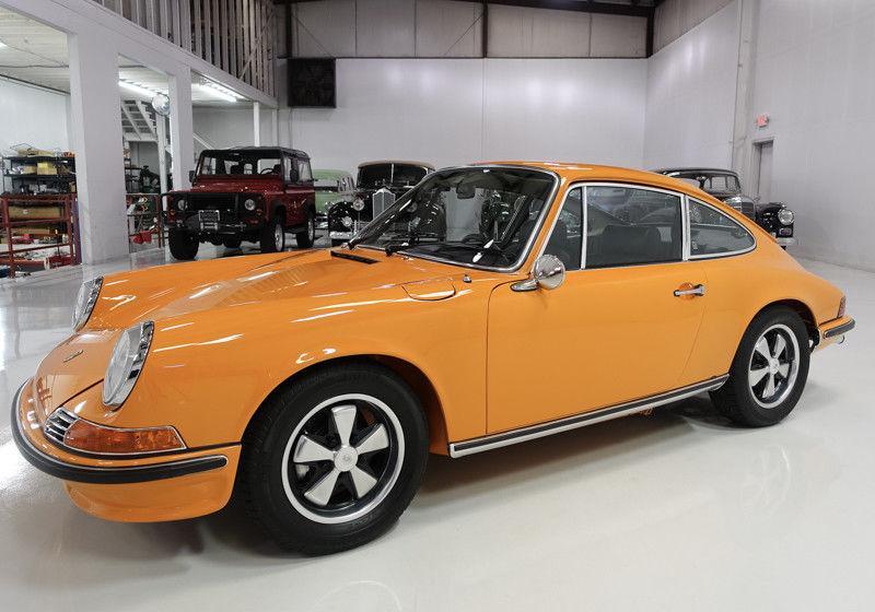 1970 Porsche 911 S 2.2 Coupe – Multiple Concours D'elegance winner