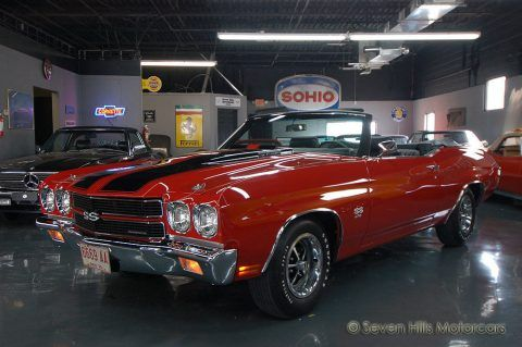 1970 Chevrolet Chevelle Convertible LS6 454 SS Frame Off Concours Restoration for sale
