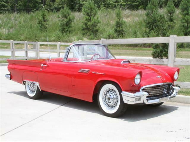 1957 Ford Thunderbird E-Code – Tremendous Restoration