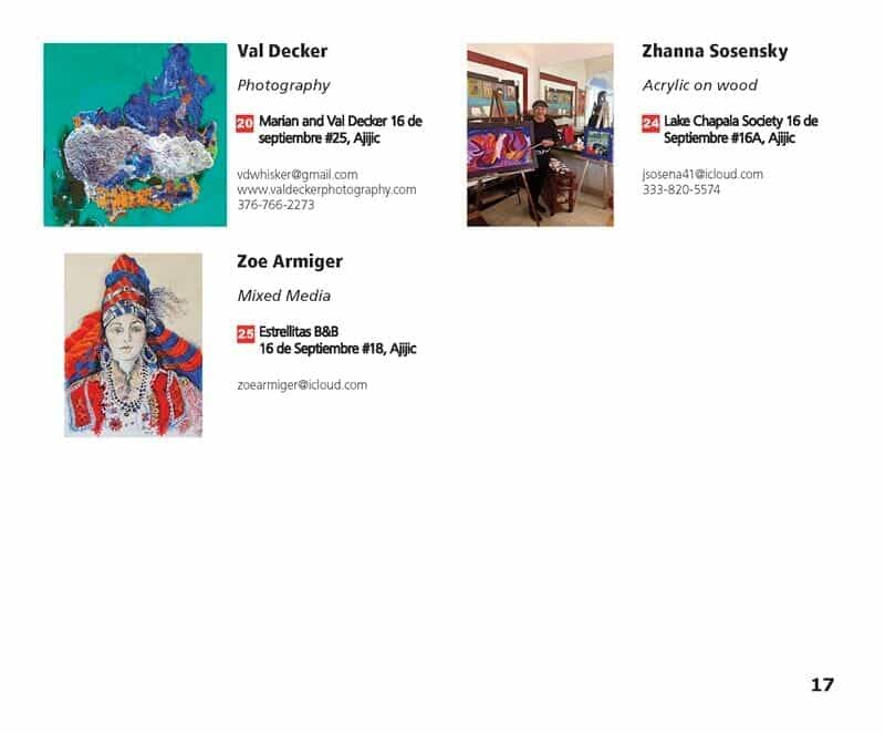 Artist Directory Page 3