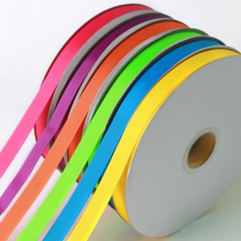 In stock highest-quality 196 colors available 6 to 100 mm width grosgrain ribbon roll (100 yards/roll)