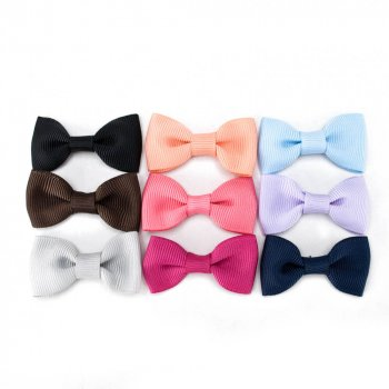 196 colors available  2″ wide grosgrain bow, pre made bows for baby hair bow making