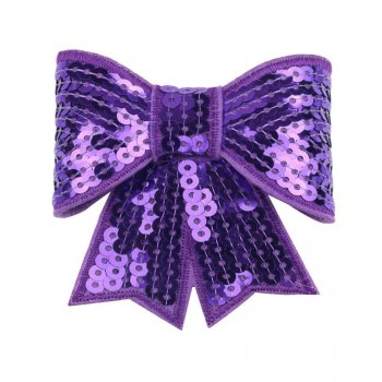 MingRibbon 10 colors 3″ width sequin bow, decorative pre made bow for DIY