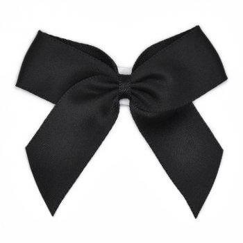 MingRibbon ready made 5 cm wide self adhesive satin bows wholesale