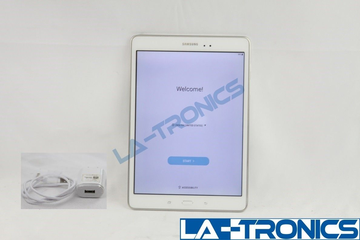 """Samsung Galaxy Tab A  9.7"""" 16GB Android Tablet SM-T550 WHITE"""