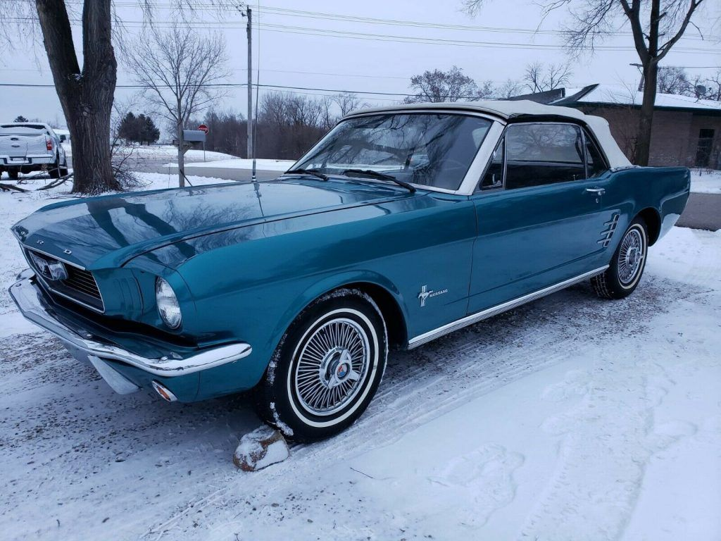 very clean 1966 Ford Mustang Convertible