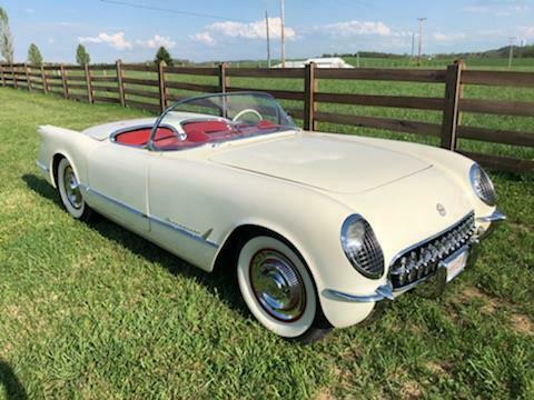 rare 1954 Chevrolet Corvette Convertible