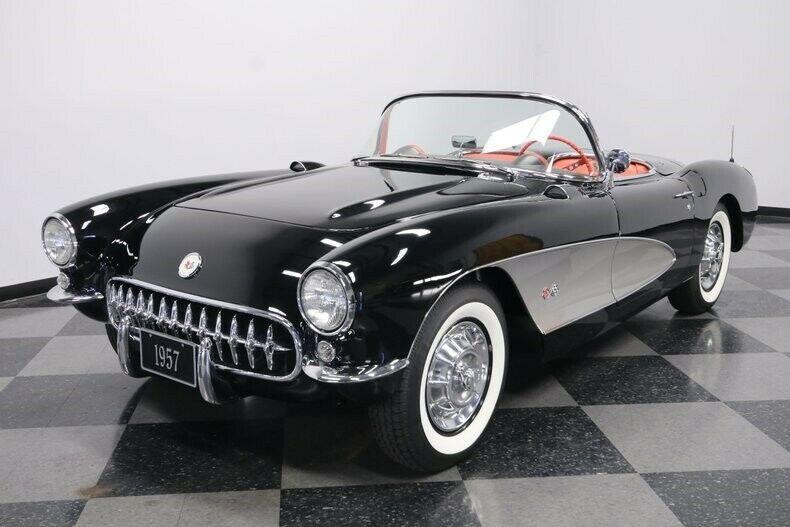 upgraded 1957 Chevrolet Corvette convertible
