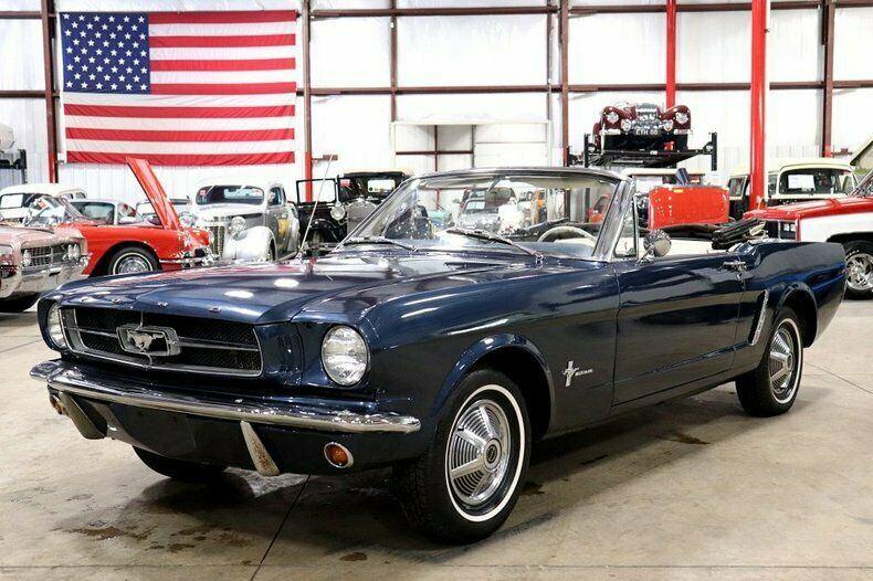 original color 1965 Ford Mustang Convertible