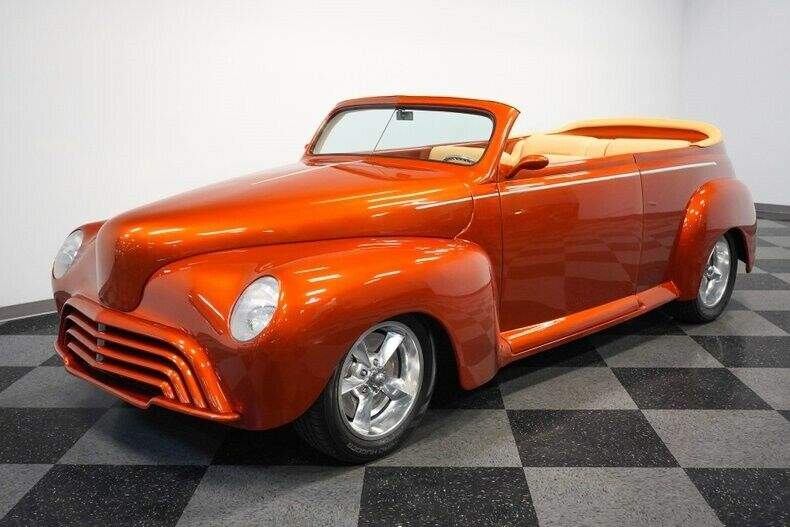 custom 1947 Ford Roadster convertible