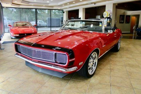fuel injected custom 1968 Chevrolet Camaro Convertible for sale