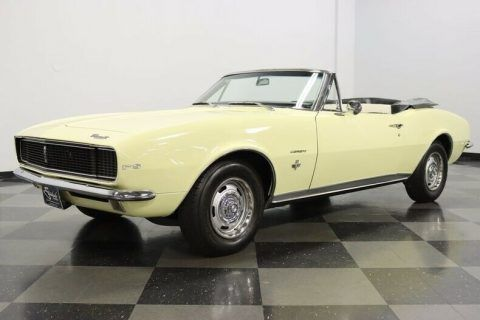 Rotisserie Restored 1967 Chevrolet Camaro RS convertible for sale