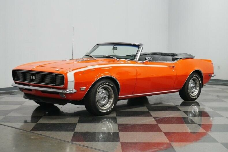 Rs/ss Tribute 1968 Chevrolet Camaro Convertible