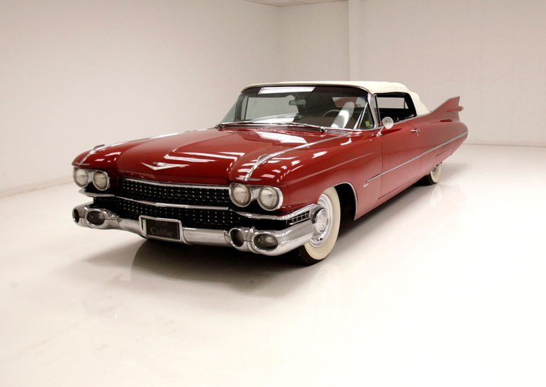1959 Cadillac Series 62 Convertible [elegant classic]