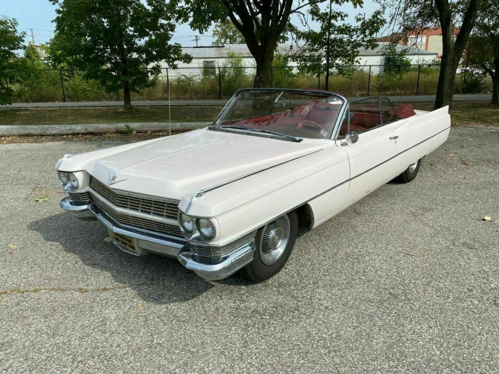 1964 Cadillac DeVille Convertible [very solid]