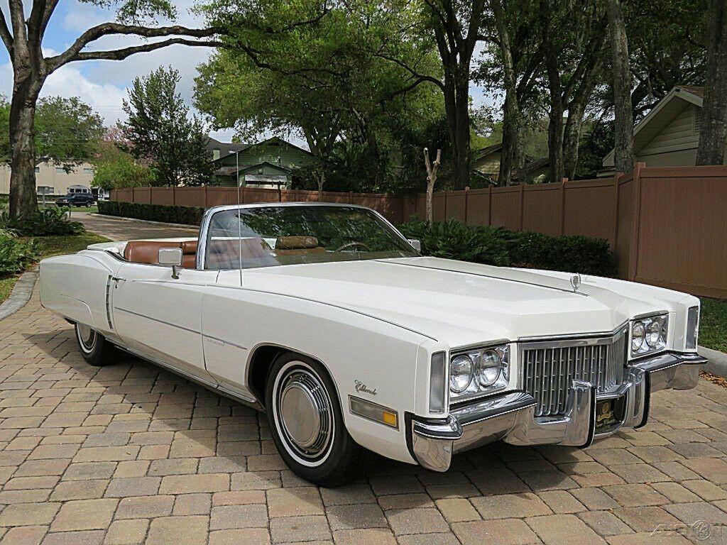 1972 Cadillac Eldorado Convertible 500ci V8 A/C [remarkable beauty]