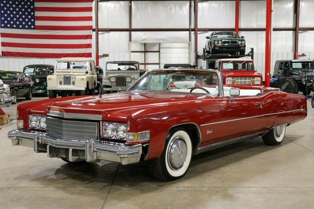 1974 Cadillac Eldorado Convertible [iconic cruiser]