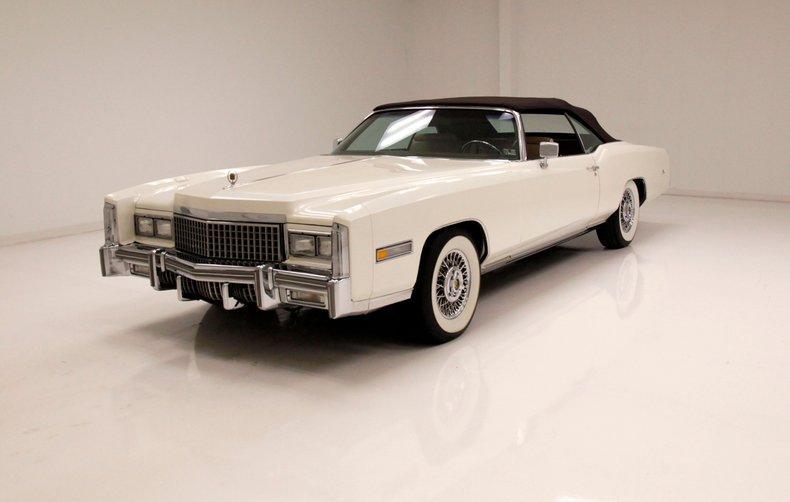 1975 Cadillac Eldorado Convertible [pristine shape]