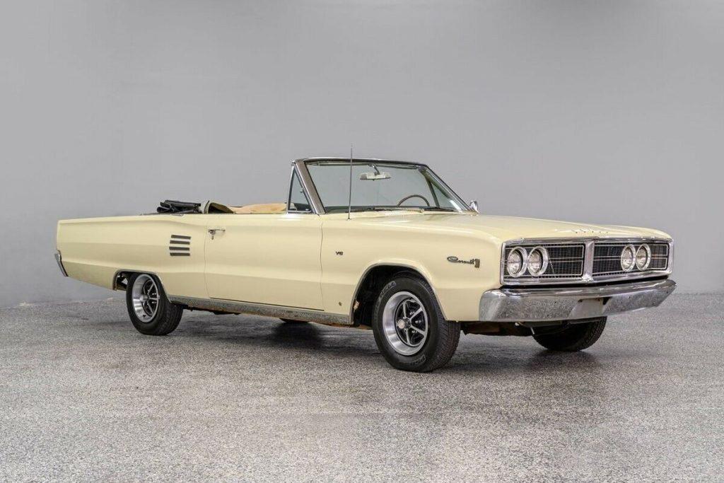 1966 Dodge Coronet Convertible [partially restored]